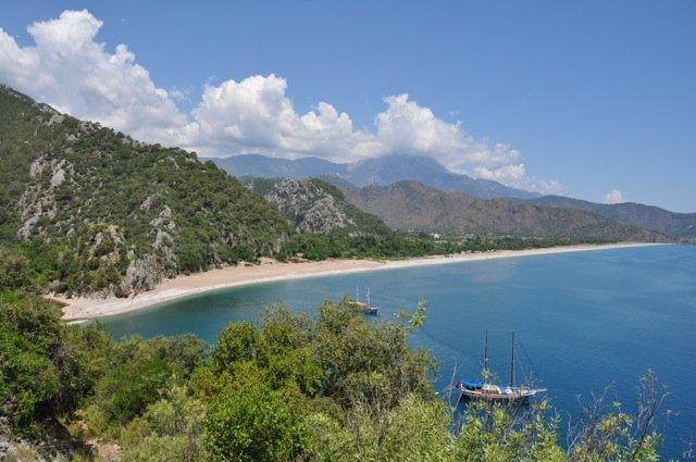 Wandelreis Turkije Lycië oostkust