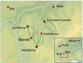 Wandelreis Italie Barolo