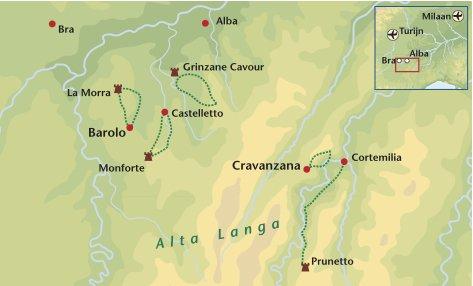 Wandelreis Italie Piemonte