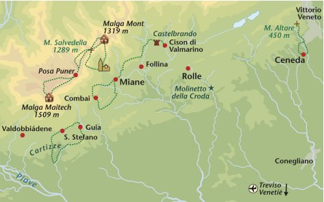 Wandelreis Italie Veneto