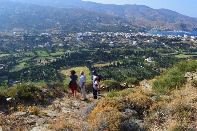 Wandelvakantie Andros