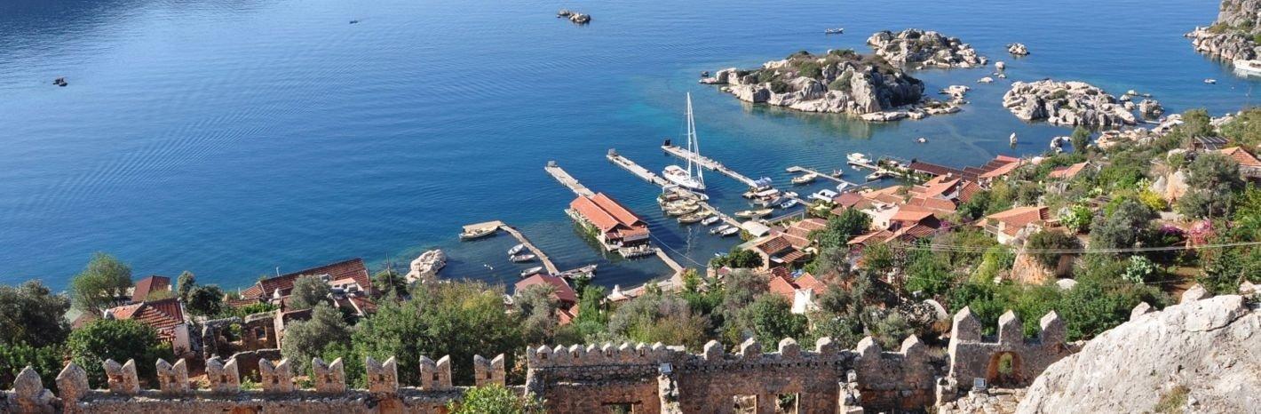 wandelreis Turkije Lycie oost