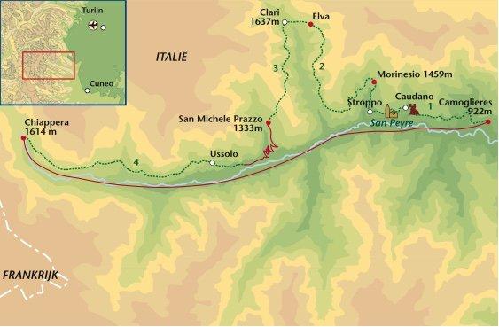 wandelreis Italië Valle Maira