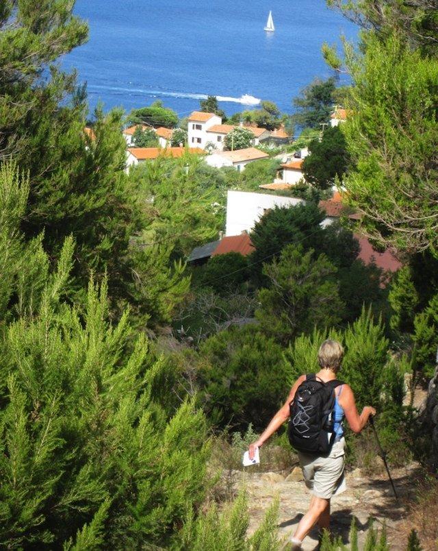 Wandelreis Italië Elba