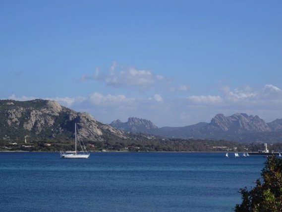 Fietsroute Sardinië
