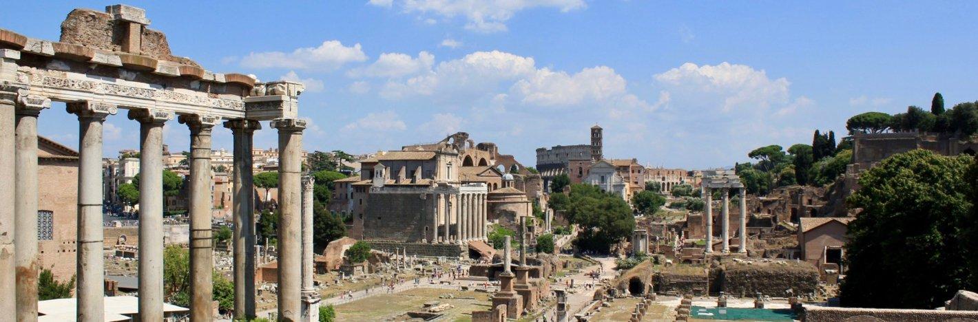 Wandelreis naar Rome