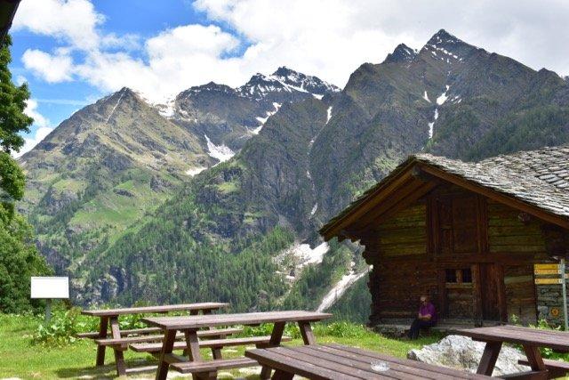 Wandelreis Aosta, Valle del Lys