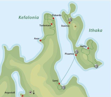 Wandelvakantie Kefalonia