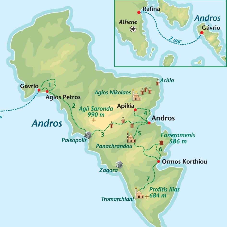 Wandelreis Andros