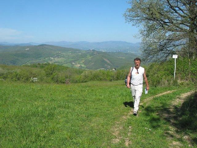 Wandelreis Italië Via Flaminia