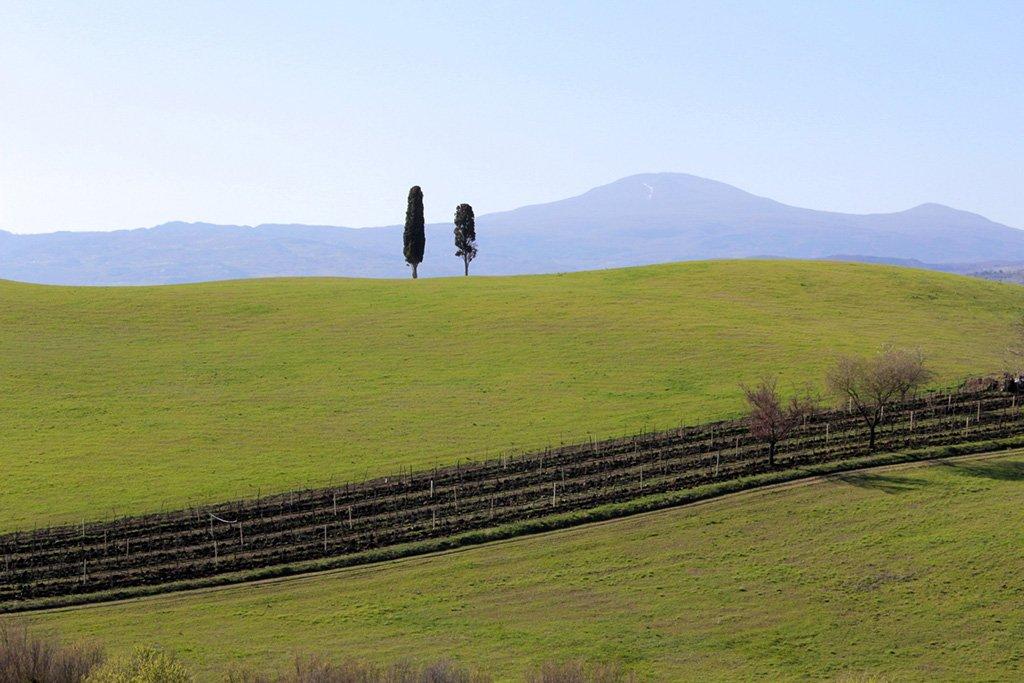 Wandelreis Italië Crete Senesi